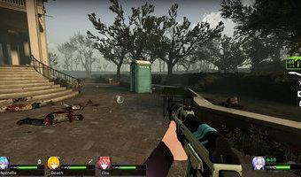 Lâu lắm mới chơi L4d2, lại ngứa tay r :3   AK-47...