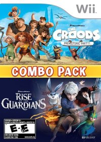 The Croods: Prehistoric Party and Rise of the Guardians Combo Pack