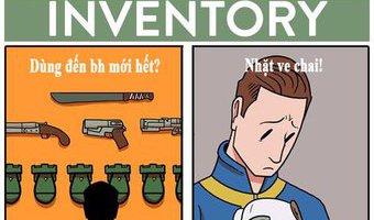 Sự khác biệt giữa thực tế và suy nghĩ khi chơi Fallout...