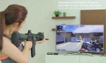 Xuất hiện tay cầm chơi game FPS giống y như súng thật