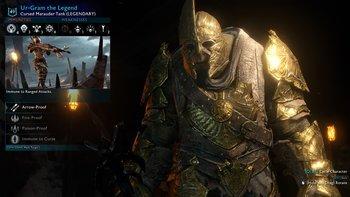 Lụm dc 1 em legend trong arena.. :) immune fire poison cursed ranged, rage khi bị đốt và nhìu thứ khác...