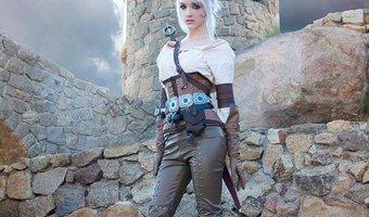 Ciri cosplay <3