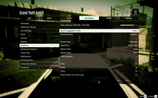Hướng dẫn thiết lập đồ họa cho GTA V PC