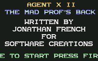 Agent X II: The Mad Prof's Back!